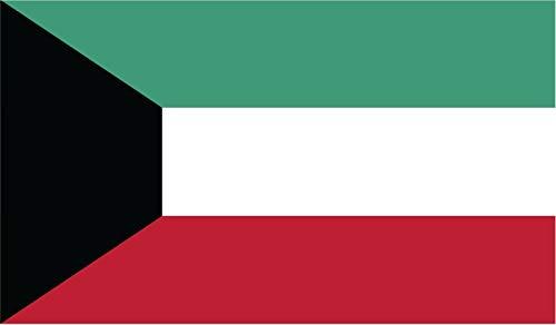 JB Print Kuwait Flag Vinyl Decal Sticker Car Waterproof Car Decal Bumper Sticker 5