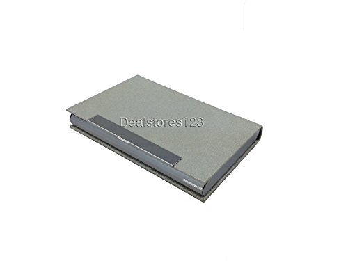 Dealstores123 Card Business Wallet 25 only Sold by Dealstores123 steel pu Holder 5rrwCPdq