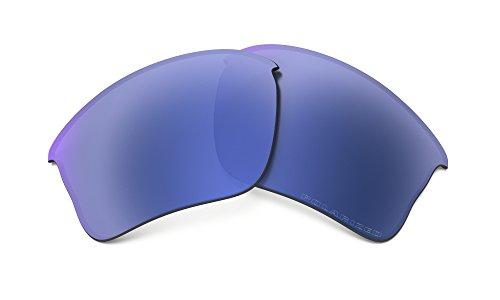 Oakley Flak Jacket XLJ Replacement Lenses Ice Polarized & Cleaning Kit - Jacket Oakley Polarized Xlj Flak