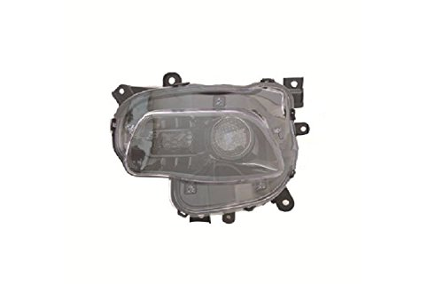 Depo 333-1195L-AS2 Headlight Assembly (JEEP CHEROKEE 14-15 ASSEMBLY HALOGEN BLACK TRIM DRIVER -