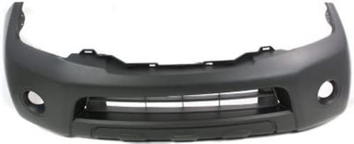 CPP Primed Front Bumper Cover Replacement for 2008-2012 Nissan Pathfinder