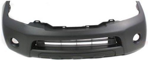 - Crash Parts Plus Primed Front Bumper Cover Replacement for 2008-2012 Nissan Pathfinder