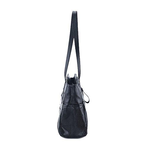 et Coquelicot Women's Coccinelle Coquelicot Shoulder black Black Bag et Sxx4RwE