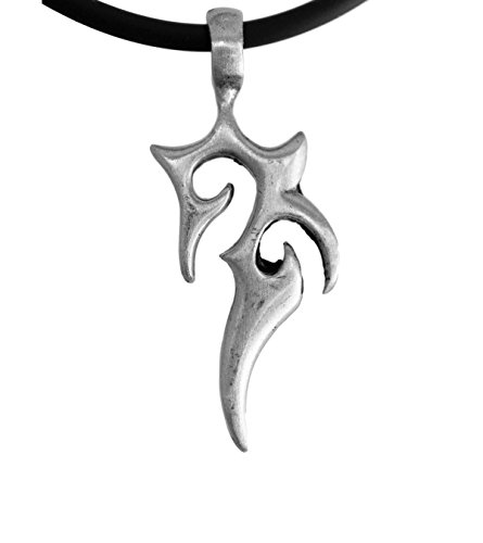 Exoticdream Fire Tattoo Tribal Clan Tribe Symbol Pewter Pendant