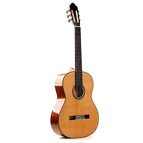 NUYI 39 Inch Classic Full Veneer Guitar Master Handmade Professional Playing Solid Wood Classical Guitar