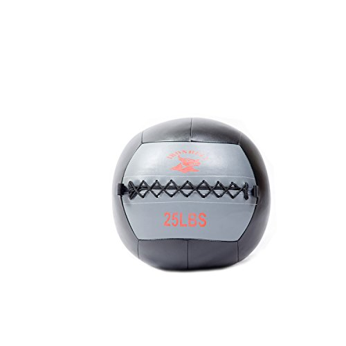 IRONBULL Soft Medicine Ball Wall Ball for Muscle Building & Balance Training, Weights Available: 8LB~30LB by Iron Bull