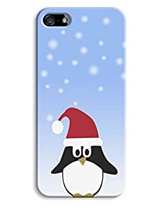 Christmas Penguin Festive Winter Design For HTC One M9 Phone Case Cover Hard