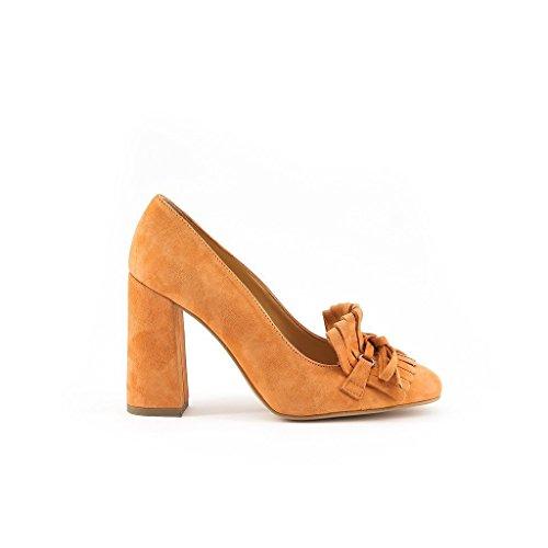 Orange Nerea In On Made Pumps Leather Slip Women's Italia 18tUxqf