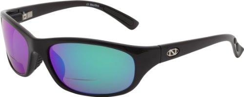 - ONOS Carabelle Polarized Sunglasses (+1.5 Add Power), Black, Green/Amber