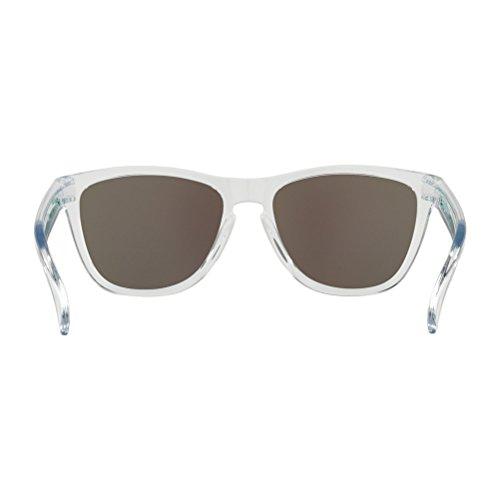 Sol Clear Jade 9013C6 Frogskins Oakley 55 Gamma Green Verde Gafas para Blanco Jade de Crystal Hombre pgIwBwq6S