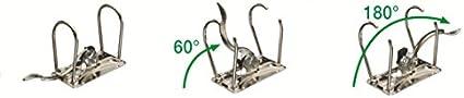 Leitz 10505015 Classeur /à levier Format A4 Capacit/é 350 feuilles Jaune