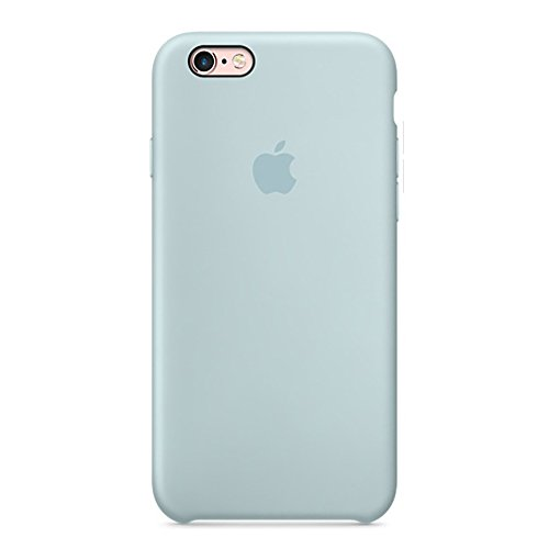 Dawsofl Soft Liquid Silicone Case Cover for Apple iPhone 6/6s (4.7inch) Boxed- Retail Packaging (Mint Green)