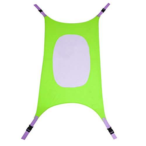 Baby Hammock Detachable Portable Sleeping Bed Safety for Kids 40.9'x30' Green