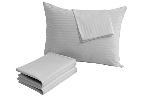Pillow Covers 4 Pack Standard 20x26 Pillow Protectors