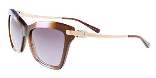 Michael Kors Women's 0MK2027 Brown Purple Gradient - Kors Ladies Michael Sunglasses