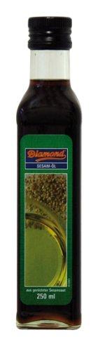 Diamond Sesamöl, geröstet, 100%, 2er Pack (2 x 250 ml)
