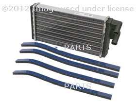 Audi (78-98) 100 200 5000 a6 Heater Core BEHR new OEM hvac