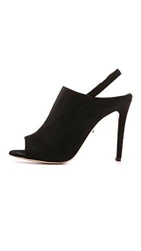 Diane Von Furstenberg Womens Fiolett Kjole Sandal Sort