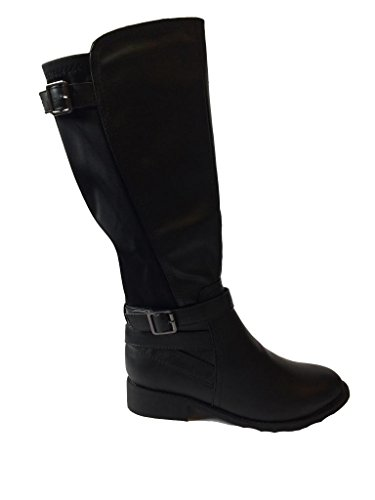 Per Sempre Link Claudia-59 Stivali Da Equitazione Donna Fibbia Nero
