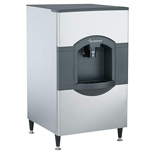 Scotsman HD30B-1 Floor Model Cube Ice Dispenser w/ 180 lb Storage - Bucket Fill, 115v