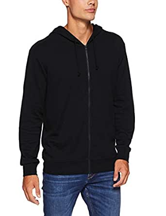 Bonds Men's Essentials Zip Hoodie, Black, X-Small