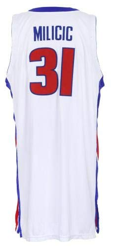 11f4493dee5 2004-05, Darko Milicic, Detroit Pistons, Game Worn Jersey, Mears  Authenticated - NBA Game Used Jerseys at Amazon's Sports Collectibles Store