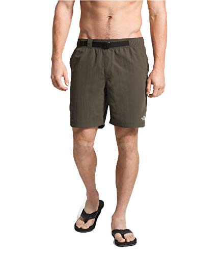 The North Face Men's Class V Belted Trunks New Taupe Green Medium R