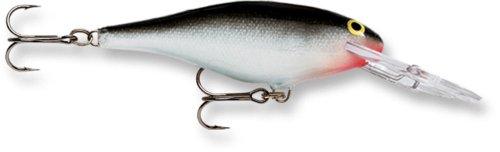Rapala Shad Rap 05 Fishing lure (Silver, Size- 2) (Shad Baitfish)