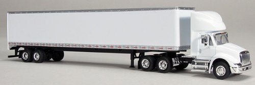"Peterbilt 379 ""Smart Power and Performance"" Semi Tractor with Trailer 1/64 by Speccast 35105"