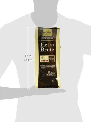 Cacao Barry Cocoa Powder 100% Cocoa Extra Brute, 2.2 lb (Pack of 2) by Cacao Barry (Image #2)