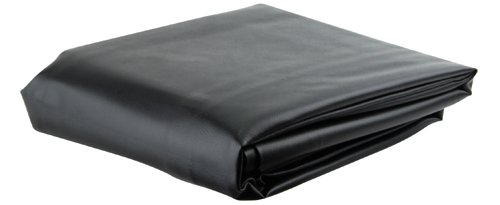 (Black 7' Heavy Duty Leatherette Pool Table Cover - 7 Foot Billiard Table)