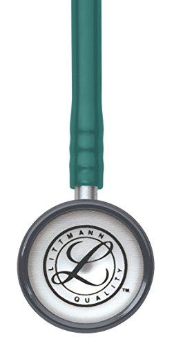 3M Littmann Classic II Pediatric Stethoscope, Pine Green Tube, 28 inch, 2131 by Littmann (Image #2)