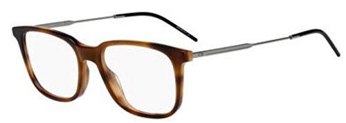 (New Christian Dior Homme Black Tie 232 2ZB Brown Havana Eye Wear Eye)