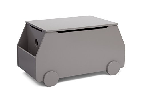 Delta Children Metro Toy Box, Classic Grey by Delta Children