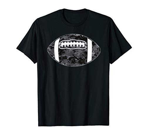 Camouflage Football Shirt - Grey Camo Football