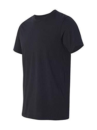 (Bella + Canvas Unisex Jersey Short Sleeve Tee (Vintage Black) (L))