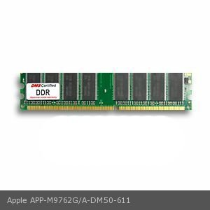 - DMS Compatible/Replacement for Apple M9762G/A 256MB DMS Certified Memory DDR PC3200 400MHz 32x64 CL3 2.6v 184 Pin DIMM - DMS