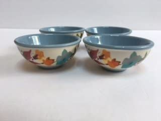 "The Pioneer Woman Cobalt 3.1/""  Stoneware Dip Bowls Set of 4"