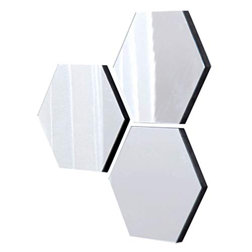 thehaki Sandwich Hexagon Type Ultra Light Mirror Board Set (3 pcs)