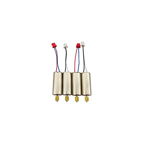 MeterMall 4PCS Forward Reverse Motor for UDIRC U52G D50 Four-axis Aircraft RC Drone Accessories
