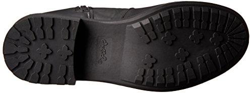 Qupid Relax-128X Damen US 6 Schwarz Mode-Knie hoch Stiefel