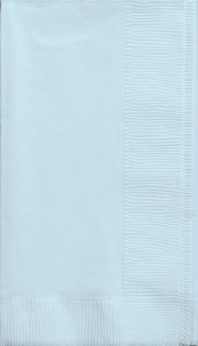 Light Blue Dinner Napkins - 1