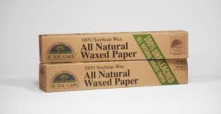 If You Care All Natural Unbleached Waxed Paper 75 Sq Ft (Pack of 4) by Source Atlantique, Inc
