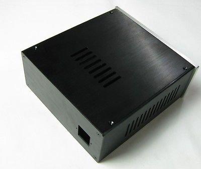 FidgetFidget Power amp enclosure/case/chassis Full Aluminum S2209 PSU BOX 219x90x228mm