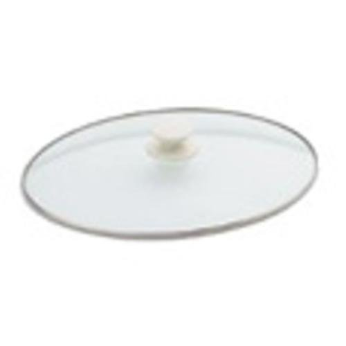 yan_Replacement Oval Glass Crock Pot Lid 4 Quart For Rival SCV401-UM