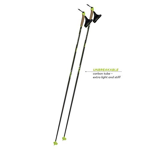 - Komperdell 520230610 Nordic Carbon Team, Black, 160cm