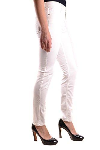 Jeckerson Femme MCBI162076O Blanc Coton Jeans