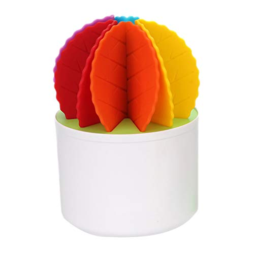 Jonerytime❤️Creative Coaster Set Fairy Ball Bonsai Non-Slip Insulation Desktop Storage (Multicolor)