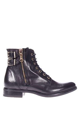 In Made De Zapato Nero Mujer Negro Italy Giardini Cuero 5qYfSnPn0
