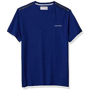 Best Epic Trends 31RPETnMYCL._SS300_ Calvin Klein Men's Move 365 Short Sleeve Quick Dry Moisture Wicking Logo T-Shirt